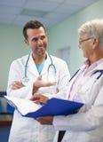Medizinische Abfrage Stockfoto