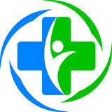 Medizinische Behandlung lizenzfreie abbildung
