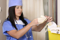 Medizinische Beseitigung lizenzfreie stockbilder
