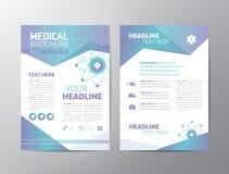 Medizinische Broschüre - Broschüre stock abbildung