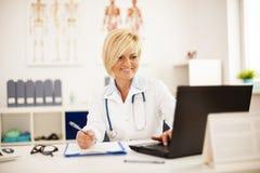 Medizinische Ergebnisse Lizenzfreie Stockfotos
