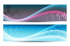 Medizinische Fahnen vektor abbildung