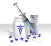 Medizinische Felder Lizenzfreies Stockfoto