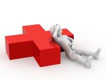 Medizinische Hilfe. Lizenzfreie Stockfotografie