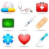 Medizinische Ikone Lizenzfreies Stockfoto