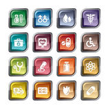 Medizinische Ikone Lizenzfreie Stockbilder