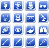 Medizinische Ikonen Stockbild