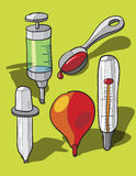 Medizinische Instrumente Stockfotos