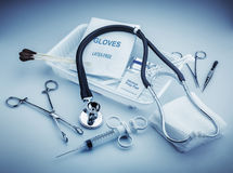 Medizinische Instrumente Stockbild