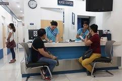 Medizinische Klinik in Asien Stockfotos