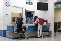 Medizinische Klinik in Asien Stockbild