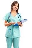 Medizinische Krankenschwester Lizenzfreie Stockfotos