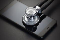 Medizinische on-line-Diagnose stockbilder
