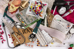 Medizinische noch Lebensdauer Stockfotos