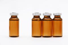 Medizinische Phiolen stockfoto