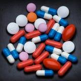 Medizinische Pillen Lizenzfreies Stockbild