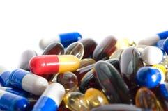 Medizinische Pillen Lizenzfreies Stockfoto
