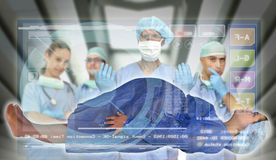 Medizinische Prüfung Stockfotografie