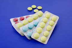 Medizinische Tabletten Stockbild