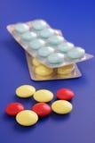 Medizinische Tabletten Stockfotos