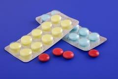 Medizinische Tabletten Stockbilder