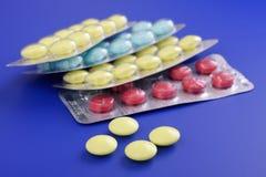 Medizinische Tabletten Lizenzfreie Stockbilder