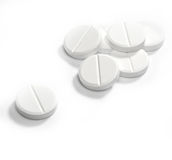 Medizinische Tabletten Stockfotografie