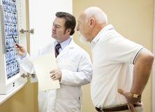 Medizinische Testergebnisse Stockbild