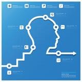 Medizinische und Gesundheit Infographic-Design-Hauptschablone Lizenzfreies Stockfoto