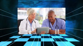 Medizinische Videos stock footage