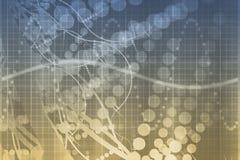 Medizinische Wissenschafts-futuristischer Technologie-Auszug Stockfoto
