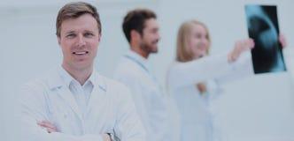 Medizinischen und der Radiologie Konzept des Gesundheitswesens, - Doktoren, die x betrachten Stockfoto