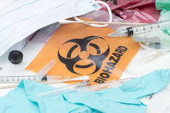 Medizinischer Abfall Lizenzfreies Stockbild