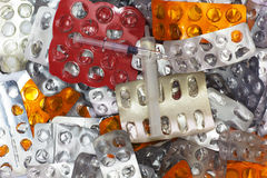 Medizinischer Abfall und Abfall lizenzfreie stockfotografie