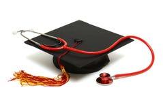 Medizinischer Absolvent stockbild