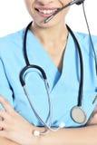 Medizinischer Call-Center lizenzfreie stockfotografie