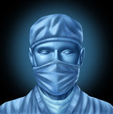 Medizinischer Chirurg-Doktor Lizenzfreie Stockfotos
