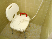 Medizinischer Dusche-Stuhl 2 lizenzfreies stockbild