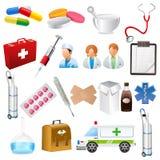 Medizinischer Gegenstand lizenzfreie abbildung
