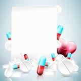 Medizinischer Hintergrund lizenzfreie abbildung