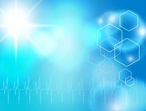 Medizinischer Hintergrund Lizenzfreie Stockbilder