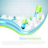 Medizinischer Hintergrund stock abbildung