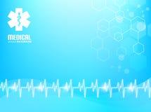 Medizinischer Hintergrund Stockbild