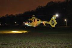 Medizinischer Hubschrauber Lizenzfreies Stockfoto