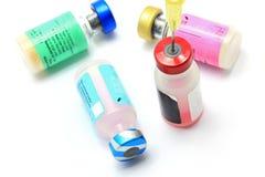 Medizinischer Impfstoff Lizenzfreies Stockfoto