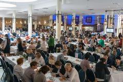 Medizinischer Kongreß im Hotel Ossa Rawa Mazowiecka, Polen stockbild