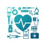 Medizinischer Konzepthintergrund Lizenzfreies Stockbild