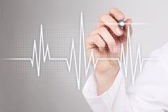 Medizinischer Konzepthintergrund des Impulses Medizin und Gesundheitswesen Stockfoto
