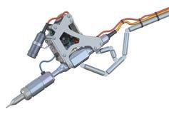 Medizinischer Laser stock abbildung