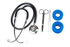 Medizinischer Satz Lizenzfreies Stockbild